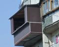 Балкон ремонт, пристройка, расширение, укрепление