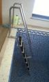 Лестница в бассейн из нержавеющей стали