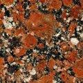 Красный гранит Rosso Santiago Капустинское месторождение