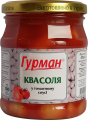 La judía en la salsa de tomate