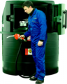 Контейнерная АЗС Harlequin 1400FS Fuel Station для хранения и раздачи дизельного топлива.
