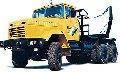 Автомобиль лесовозный тягач КрАЗ-64372