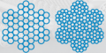 Канат сталевої авіаційний для систем керування літаків КОНСТРУКЦІЯ: 6x7+1x7; 6x19+1x19, ДЕРЖСТАНДАРТ 2172, пр-у Стальканат-Силур, Харків