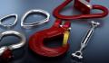 Комплектующие для стропов: Крюк чалочный ГОСТ 25573-82, Крюк с проушиной типа 320А, Крюк с защелкой типа G80, пр-во Стальканат-Силур, Украина