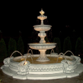 Fountains from concrete for a garden and park