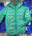 Детская куртка ветровка на девочку Сердечко 92-116 бирюза, код товара 241680788