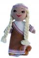 Игрушки для девочек. Игрушки оптом от производителя.  Кукла большая мягкая.