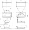Дозатор весовой автоматический ДН-4000 с надвесовым бункером
