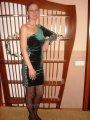 Вечернее платье Бархат Зеленое 1193