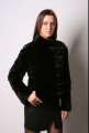 Куртка из натурального стриженного меха норки