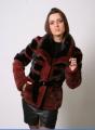 Куртка из натурального стриженного и нестриженного меха норки Модель: M1/5