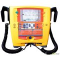 Defibrillator-Monitor Cardio-Hilfe 200 mit wiederverwendbare Elektroden + Drucker + Rhythmus Steuermodul + Pulsoximeter