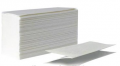 Towels paper sheet white V-laying in packs on 160 pieces.