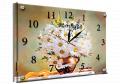 Часы под стеклом 30 х 40 см K-649