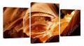 Картина модульная с часами 6 пещера 6T