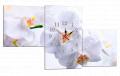Картина модульная с часами 182 орхидея 182T