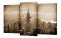 Картина модульная с часами 191 Нью-йорк 191T