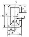 Профили стальные гнутые С-образные равнополочные С - профиль ГОСТ 8282-83