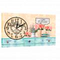 Часы на холсте 30 х 53 см M-1