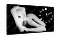 Часы на холсте 30 х 53 см 12