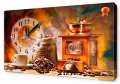 Часы-картина на холсте 30 х 53 см O134