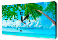 Часы на холсте 30 х 53 см CH26