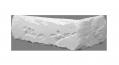 """Плитка гипсовая """"Бостон classik"""" угловая (1 упаковка = 1,9 м.п.)"""