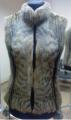 Жилет женский меховый - камышовый кот, Меховые жилеты из натурального меха в Киеве