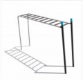 Спортивные тренажеры DENFIT Basix Horizontal Ladder