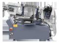 Гидравлический ленточно-отрезной станок Мить - 1 - 02. Максимальный диаметр разрезаемой заготовки 300 мм.