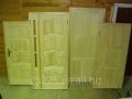 Двери деревянные неокрашенные Обойный рынок