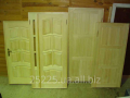Двери деревянные неокрашенные Киев Обойный рынок
