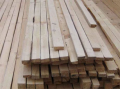 The lath is assembly white, pine Kiev
