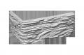 """Плитка гипсовая  """"Атлантида classik"""" углова (1 упаковка = 1,2 м.п.)"""