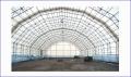 Hangars of polygonal type