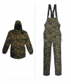 Set winter for special divisions. Jacket pea jacket + overalls winter.