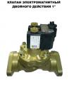 Клапан электромагнитный двойного действия 1 Шельф 100