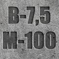 Бетон товарный М-100 П4 под насос