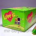 Жвачка Love is яблоко лимон жевательная резинка лове ис яблоко лимон, арт.231608192