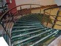 Лестница со стеклянными ступенями 4.69