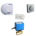 Automatic equipment for fan heaters water