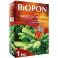 Удобрение в гранулах осеннее для хвойных растений, biopon 1 кг