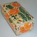 Деревянная лакированная шкатулка с ручной росписью цветочными узорами