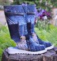 Женские летние джинсовые сапоги Stella OS 011-И