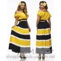 Женское яркое летнее платье  ФМ 069-И
