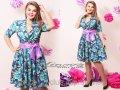 Женское яркое платье  ФМ 084-И