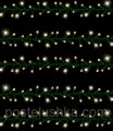Garland of Triumph Tree of 10.4 m of yellow, 400 LED lamps for the house and the stree