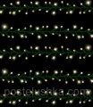 Garland of Triumph Tree of 6.5 m of yellow, 250 LED lamps for the house and the stree