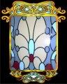 Витражи для дверей. Дверные вставки из стекла и зеркала в технике Тиффани.