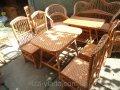 Плетеная мебель из лозы- Набор Простый кухонный код  46059943